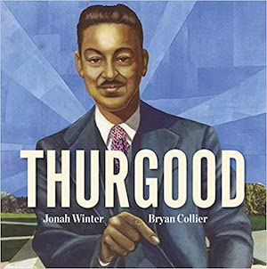 Inspirational Thurgood Marshall (1908-1993) was the first black justice on the Supreme Court and a giant of the civil rights movement. Follow him from his childhood through his celebrated career on the Court. More books about judges for kids at nancybrashear.com.