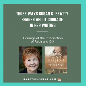 Susan K. Beatty shares about Courage and Writing with Isobel's Mission of Courage